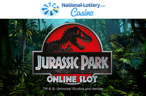 Play Jurassic Park now at National-Lottery.com Casino